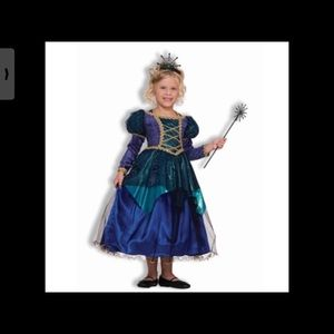 NWT Sparkle Spider Witch Child's Costume Size 8/10